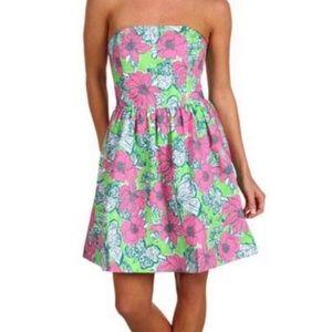 Lilly Pulitzer Lottie Bloomin Cacoonin Mini Dress